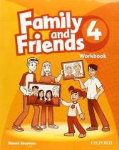 Family and Friends 4 Workbook - Naomi Simmons