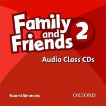 Family and Friends 2 Class Audio CDs /2/ - Naomi Simmons