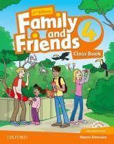 Family and Friends 4 Course Book (2nd) - Naomi Simmons