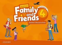 Family and Friends American English 4 Teacher´s Resource Pack (2nd) - Naomi Simmons
