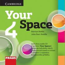Your Space 4 pro ZŠ a VG - 2 CD - Martyn Hobbs, Julia Starr Keddle