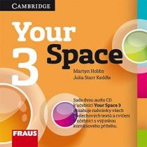 Your Space 3 pro ZŠ a VG - 2 CD - Martyn Hobbs, Julia Starr Keddle