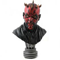 Diamond Select Toys Busta Legends in 3D: Star Wars The Mandalorian Darth Maul 1/2 Scale Bust