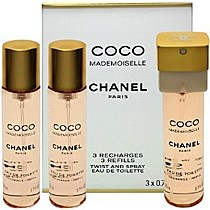Chanel Coco Mademoiselle - W EDT 3 x 20 ml