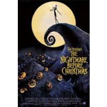 POSTERS NIGHTMARE BEFORE CHRISTMAS plakát 61 x 91 cm