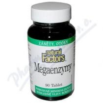 Natural Factors Nutritional Products Mega Enzymy (90 tablet)